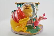 Disney Winnie The Pooh's Head Stuck Musicial Snowglobe in the box - RETIRED