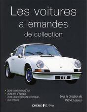 Les voitures allemandes de collection