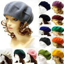 Wool Beret French Style Fashion Winter Spring Beret Hat Warm Dressy Soft