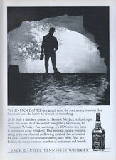 Jack Daniels Whiskey Spring Water 1996 Magazine Advert