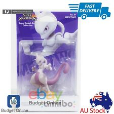 Nintendo Amiibo Character Mewtwo Pokemon For Wii 3DS Super Smash Bro Collection