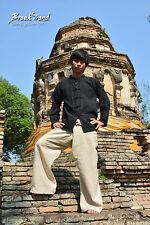 Traditionell schwarzes Kung Fu Kampfsporthemd aus 100% Baumwolle XL - 20801