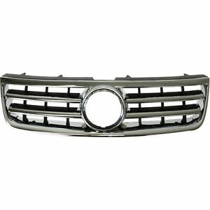 Front Grille With Chrome Frame fits 2004 2005 2006 2007 Volkswagen Touareg