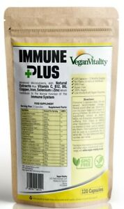 Immune Booster Supplement - Double Strength Immune Health Support - UK made