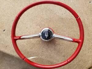 Vintage Studebaker complete OEM STEERING WHEEL - Nice