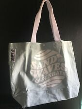 New Victoria's Secret PINK! Washed Northstar Canvas Tote Beach Pool School Bag