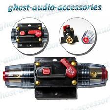 20a Amp Car Audio Disyuntor AGU estilo fusibles Chapado En Oro