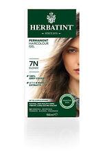 Herbatint 7n Blonde Permanent Herbal Hair Colour GEL 135ml