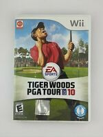 Tiger Woods PGA Tour 10 - Nintendo Wii Game - Complete & Tested