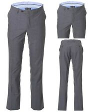 NWT 100% AUTHENTIC HACKETT GREY SLIM FIT WOOL FORMAL TROUSERS. WAIST 32""