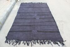 Turkish Stripe Kilim Rug,Antique Hemp,Anatolia Hemp Kilm,Floor Kilim Rug,Hemp