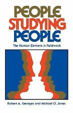 People Studying People: The Human Element in Fieldwork-ExLibrary