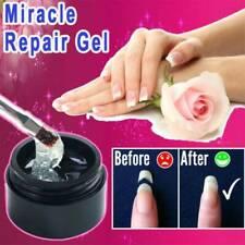 5ml Cracked Nail Repair Gel Armor Nail Gel Coat Growth Treatment Strong Repair