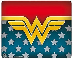 Wonder Woman Logo Computer Mouse Mat (aby)