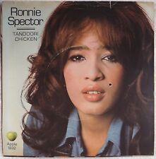 RONNIE SPECTOR: Tandoori Chicken APPLE Beatles USA PS & 45 Rare