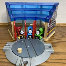 Imaginarium Wooden Train Track Roundhouse Shed & Turntable TOYS R US Thomas