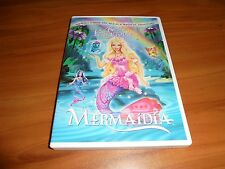 Barbie - Fairytopia: Mermaidia (DVD, Widescreen 2006) Used Animated