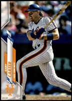 Gary Carter 2020 Topps Short Print Variations 5x7 #649 /49 Mets