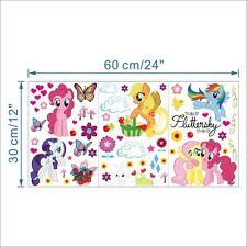 My Little Pony Adesivi da parete (Nuovo di Zecca oltre 30 adesivi)