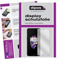 2x OnePlus 5 Protector de Pantalla protectores transparente dipos
