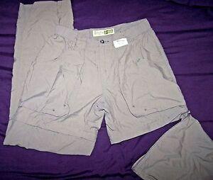 "CABELA'S 30""-34"" x 32"" Convertible Women's sz 6 Zip-Off Shorts/Pants 100% Nylon"