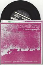 "VA ""Rebuilding"" 7"" OOP Gorilla Biscuits Iceburn Burn Turning Point No Escape"