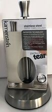 kamenstein Stainless Steel Paper Towel Holder Perfect Tear Brand New