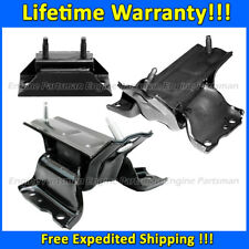 K1943 Motor&Trans Mount Set 3PC For Ford E150 E250 E350 E450 4.6/5.4L 1997-2014