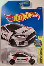 Hot Wheels Ford Focus RS MK3 Diecast 1/64 Scale
