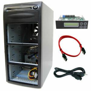 5 Burner (7 Bay) SATA CD DVD Duplicator Copier Barebone Tower Replicator Case