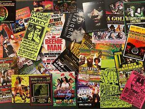 23 Classic1990s 2000s Reggae Party Flyers - NYC/ Miami/Brooklyn/Bronx/Hollywood