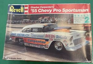 Vintage Revell Carpenders 55 Chevy pro sportsman model car kit