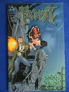 ~~ FAUST SINGHA'S TALONS #1 PRISM EDITION SIGNED QUINN ~ 2000 ~AVATAR ~~