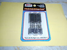 ATLAS  N SCALE CODE 80 STRAIGHT TRACK ASSORTMENT  10 PIECES