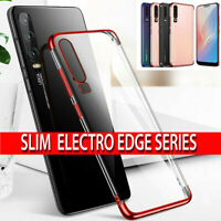 Silicone Case For Huawei P30 Pro P20 Lite Original Shockproof Clear Phone Cover