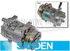 A/C Compressor w/Clutch for Ford / New Holland Combine & Forage Harvester - OEM