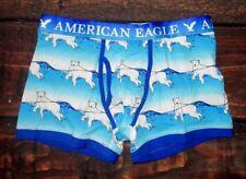 Mens American Eagle Classic Trunk Blue Bear Boxer Brief Size Xl (40/42)