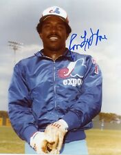 RON LEFLORE MONTREAL EXPOS SIGNED 8x10 PHOTO w/ COA