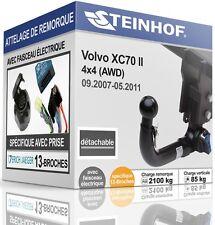 ATTELAGE détachable VOLVO XC70 II 2007-2011+FAISCEAU SPÉCIAL 13-broches