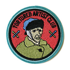 Vincent van Gogh Tortured Artist Club Iron On Patch Embroidered Sew On Art