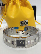 DOLCE & GABBANA  ROCKET  LADIES  SWAROVSKI  BAGUETTE  STONES  WATCH  DW0239  NEW