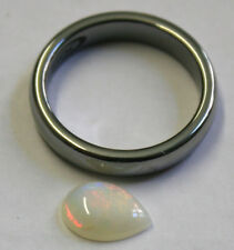 Natural suelto cabujón de piedras preciosas de ópalo australiano 0.8 CT 7X10MM Pera OP66D