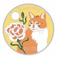 Pathtag  13149  -   Kitty   Cat   -geocaching/geocoin/alt.  *Retired*