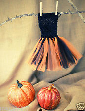 New baby girl tutu crochet dress HALLOWEEN 12 months