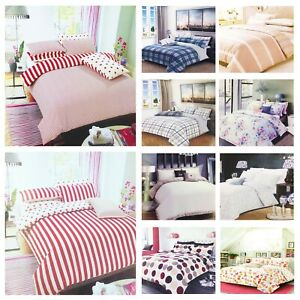 4 PIECE COMPLETE BEDDING SET INCLUDING DUVET COVER FITTEDSHEET PILLOWCASE