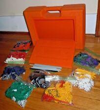 711pc Set K'nex Knex & Storage Case no instructions Building Toy Age 8+ Euc