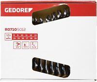 GEDORE R07105012 MAUL-RINGRATSCHENSCHLÜSSEL-SATZ 12-tlg. / 8 - 19 mm