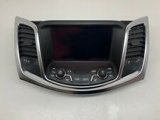 VF Commodore Mylink Screen Display Unit Red Ring Dial Evoke Sv6 Ss Non Nav 201