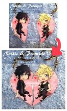 Final Fantasy XV 15  Noctis & Prompto Heart Acrylic Keychain charm NEW!!