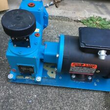 American Lewa Ek-1 Diaphragm Metering Pump W/ 1/2 Hp Motor (Nice)